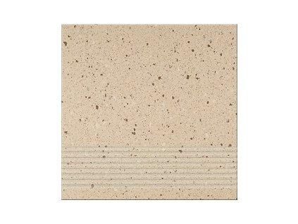 Opoczno Hyperion beige steptread dlažba 30 x 30 cm béžová