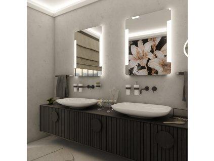 Nimco ZP 18002 LED zrcadlo 60 x 80 cm podsvícené