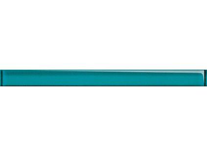 Opoczno Glass azure border new listela 4,8x60 cm sklo