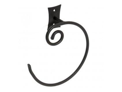 Sapho Rebecca CC006 držák ručníků otevřený černá