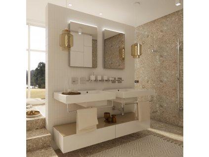 Nimco ZP 8002 60 x 70 cm LED zrcadlo podsvícené