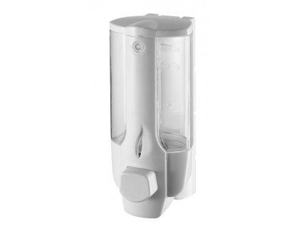 Aqualine 72027 dávkovač tekutého mýdla na zavěšení 350 ml bílá