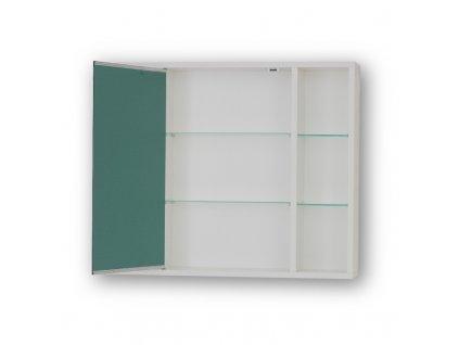 Olsen Spa Sévis zrcadlová skříňka 70 x 58,5 cm závěsná OLNSEV70 bílá