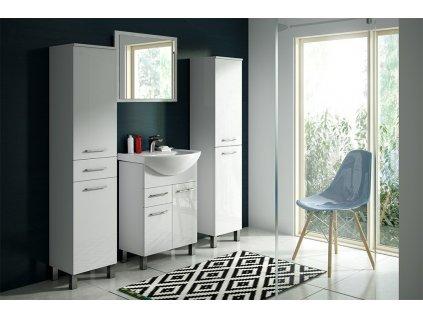 Olsen Spa Rino 45 koupelnová skříňka s umyvadlem 41,5 x 25,4 x 71,5 cm bílá