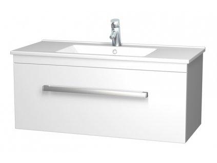 Intedoor AR 100 01 skříňka s umyvadlem Arte 100 cm bílá
