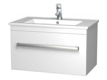 Intedoor AR 75 01 skříňka s umyvadlem Arte 75 cm bílá