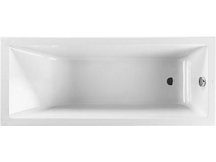 Jika Cubito Pure 160 x 70 cm H2204200000001 vana akrylátová obdélníková