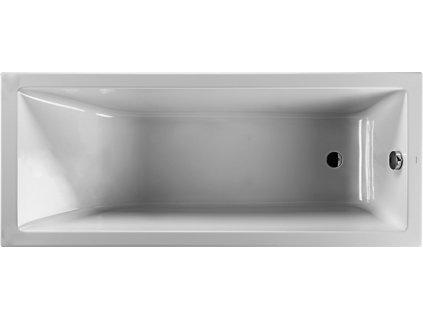 Jika Cubito Pure 170 x 70 cm H2244200000001 vana akrylátová obdélníková