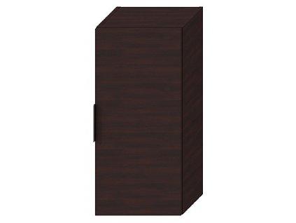 Jika Cube H4537111763021 skříňka střední 34,5 x 75 cm tmavý dub