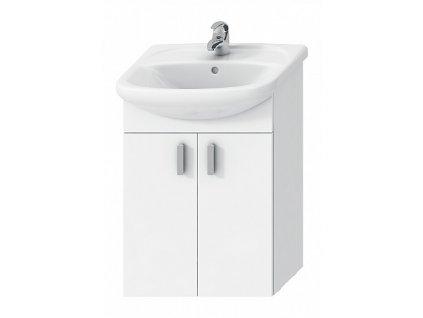 Jika Lyra Plus H4519514323001 umyvadlová skříňka 53 x 42 cm bílá