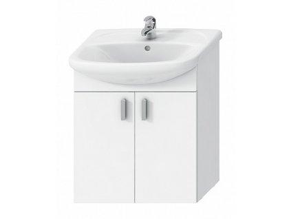 Jika Lyra Plus H4519614323001 umyvadlová skříňka 65 x 48 cm bílá