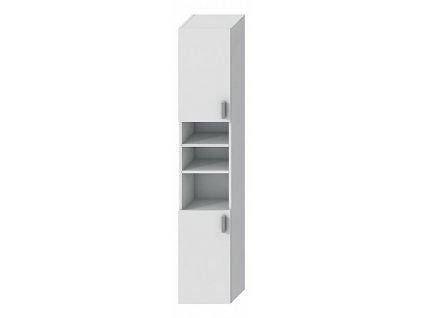 Jika Lyra Plus H4519714323001  koupelnová doplňková skříňka 32 x 170 x 25 cm bílá