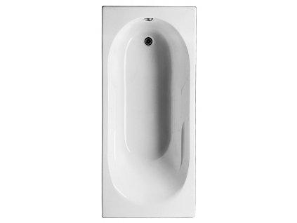 Jika Lyra Plus 160 x 75 cm H2288390000001 vana akrylátová obdélníková vč. noh
