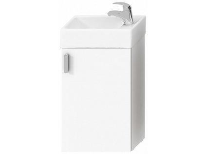 Jika Petit H4535111753001 skříňka s umyvátkem 40 x 23,5 cm bílá