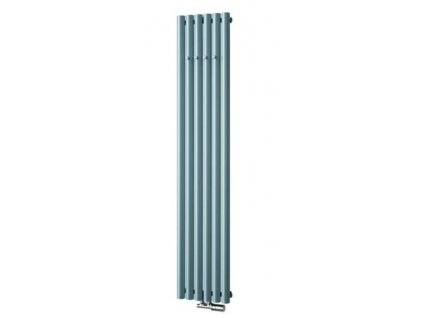 Isan Akros 1800 x 590 mm koupelnový radiátor bílý