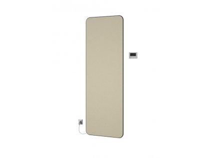 Isan E-Slim oblý 1806 x 456 mm koupelnový radiátor bílý