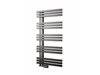 Isan Echo Inox 1220 x 500 mm koupelnový radiátor nerez