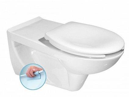 Sapho Etiuda K670-002 WC závěsné pro tělesně postižené 37,5x73 cm