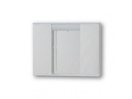 Olsen Spa Lumix II OLNPSE6040 závěsná skříňka se zrcadlem 60 × 40 × 15 cm