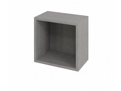 Sapho Espace ESP151 skříň policová 35 x 35 x 22 cm dub stříbrný
