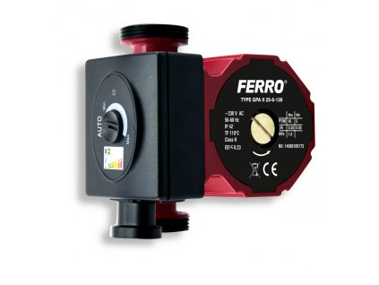 FERRO 25-60/130mm W0604 oběhové elektronické čerpadlo