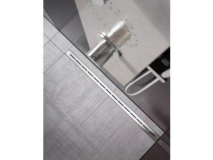 Ravak Runway 750 mm odtokový žlab nerezový X01622