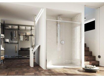 Hopa POLIS 180,5 - 200 x 200 cm BPG1105DXC3 sprchové dveře pravé
