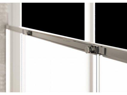 Hopa POLIS 180,5 - 200 cm sprchové dveře BPG1105DXC3 pravé sklo Acidato