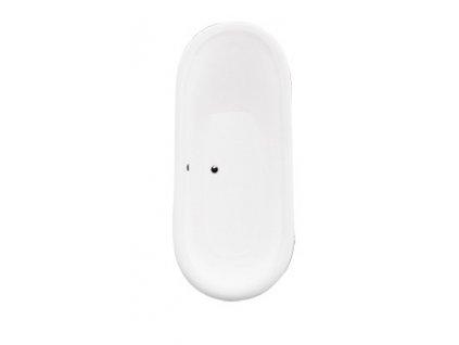 Hopa AMELIA ALIANO 190 x 77 cm VANALI190W vana volně stojící bílá/bílá