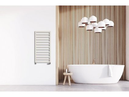 Hopa Poppy 400 x 670 mm koupelnový radiátor bílý