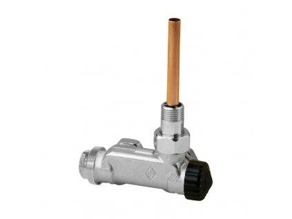 """Heimeier ventil E-Z DN 15 (1/2"""") pro dvoutrubkové otopné soustavy rohové provedení 3879-02.000"""