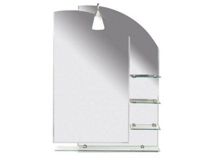 Aqualine Wega 65028 zrcadlo s poličkami 65 x 90 cm