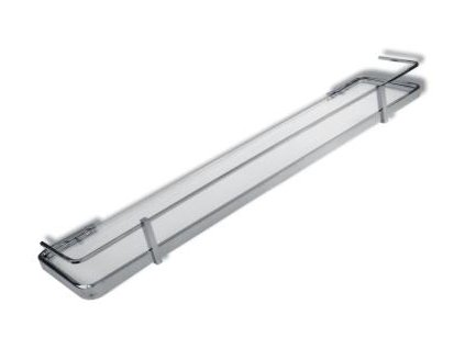 Novaservis Metalia  4 6453.0 polička zaoblená se zábradlím