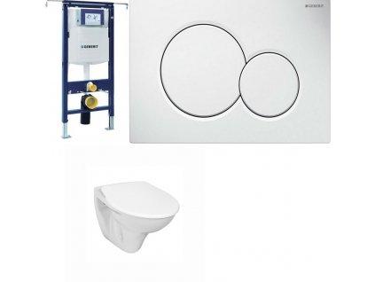 Geberit Duofix Speciál 111.355.00.5 komplet pro závěsné WC do bytových jader