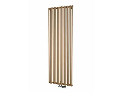 Isan Aruba 1800 x 300 mm koupelnový radiátor bílý