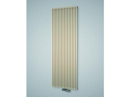 Isan Aruba Double 1800 x 300 mm koupelnový radiátor bílý
