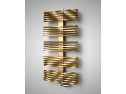 Isan Koro 1215 x 600 mm koupelnový radiátor bílý