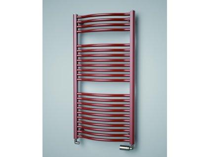 Isan Linosia Plus 730 x 600 mm koupelnový radiátor bílý