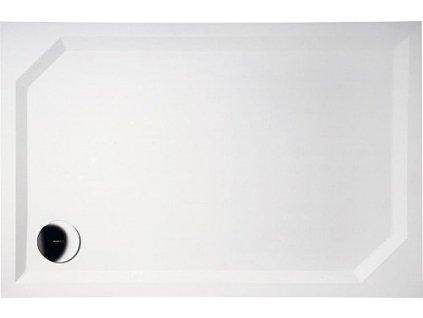 Gelco Sara HS10090 sprchová vanička 100 x 90 x 4 cm litý mramor