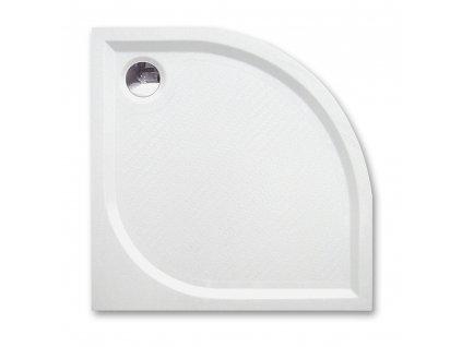 Project Line DREAM-M 900 čtvrtkruhová sprchová vanička 90 x 90 cm 8000150 litý mramor