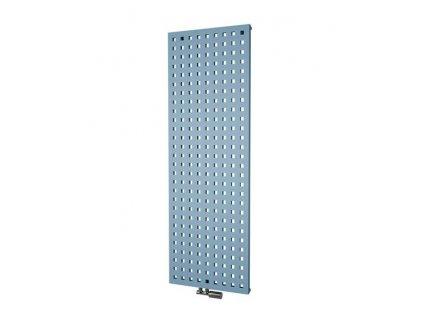 Isan Solar 1206 x 288 mm koupelnový radiátor bílý