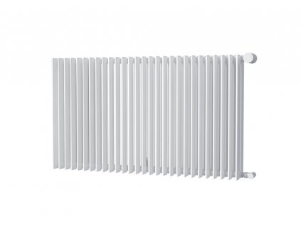 Isan Antika Double horizontal 576 x 1400 mm koupelnový radiátor bílý