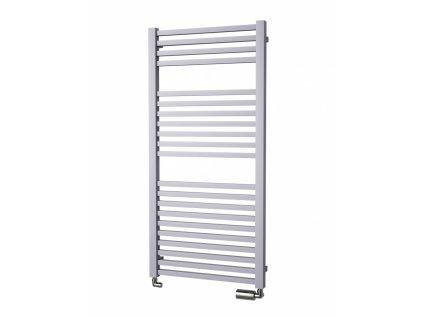 Isan Quadrat 1255 x 600 mm koupelnový radiátor bílý