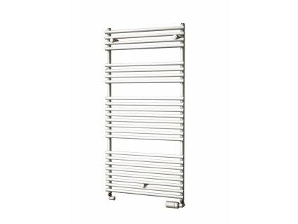 Isan Ikaria 1212 x 600 mm koupelnový radiátor bílý