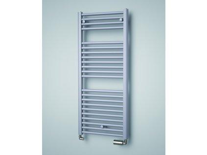 Isan Linosia 1765 x 500 mm koupelnový radiátor bílý