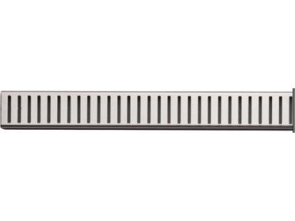 Alcaplast PURE-550L Rošt pro liniový podlahový žlab - nerezový lesklý