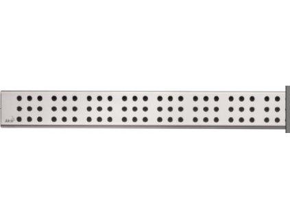 Alcaplast CUBE-850L Rošt pro liniový podlahový žlab - nerezový lesklý