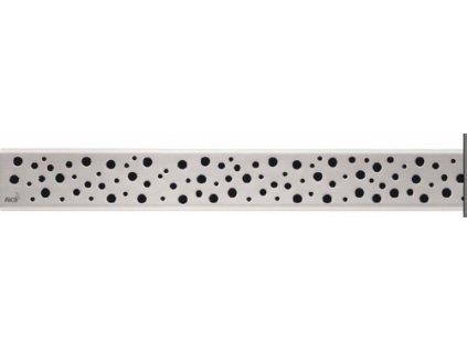 Alcaplast BUBLE-550L Rošt pro liniový podlahový žlab - nerezový lesklý