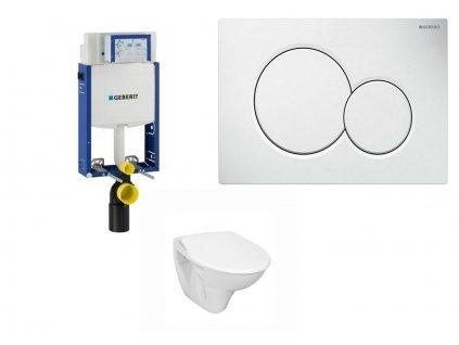 Geberit Kombifix Eco 110.302.00.5 komplet pro závěsné WC k zazdění