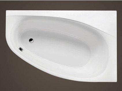 Santech Area 170 x 110 cm SAARE170P vana akrylátová asymetrická pravá - ZDARMA DOPRAVA